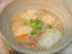 090124大和芋の団子汁