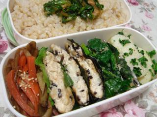 090205豆腐ふわふわバーグきんぴら弁当