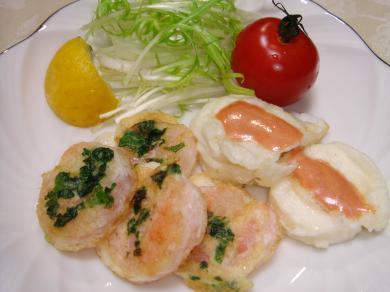 090207海老と大和芋のフリッター