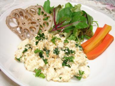 090218豆腐サラダ2