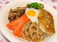 090221和風ロコモコ丼2