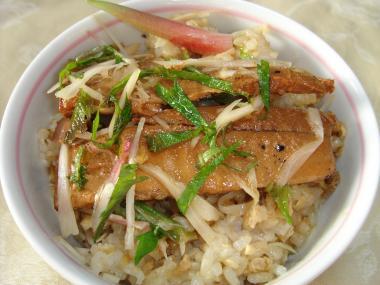 090502秋刀魚蒲焼丼