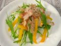 090504だいこん黄パプリカ水菜サラダ2-2