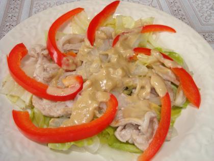 090522蒸し豚&野菜
