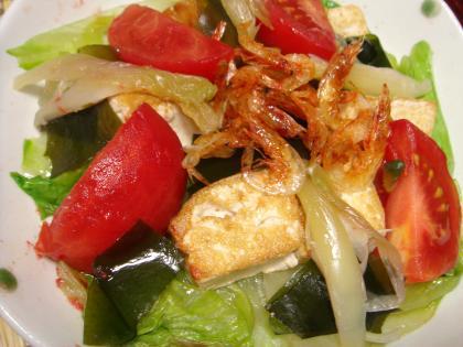 090727中華風豆腐サラダ