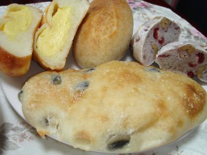 090728ひょうたんカフェのパン