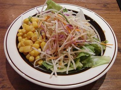 ミート矢澤 セットのサラダ