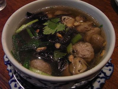 ゲンツーウンセン(春雨と挽き肉のスープ)