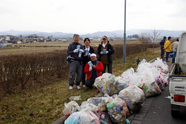 千曲川ボランティア清掃