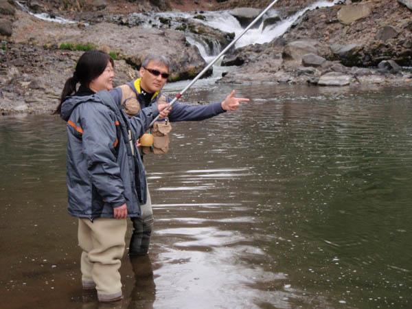 渓流釣り教室