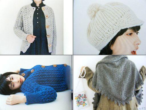 本レポきょうの編み物3