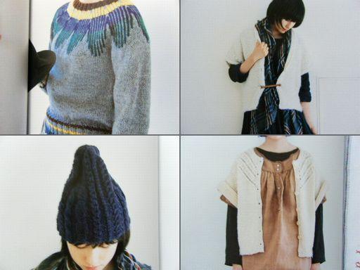 本レポきょうの編み物4