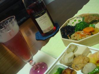 ワインと総菜