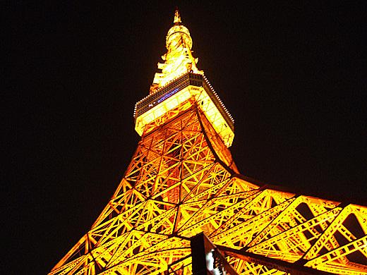 ポートタワーじゃなくて東京タワー