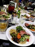 テーブルに乗りきらないつまみ料理部200808
