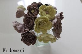 布花づくり