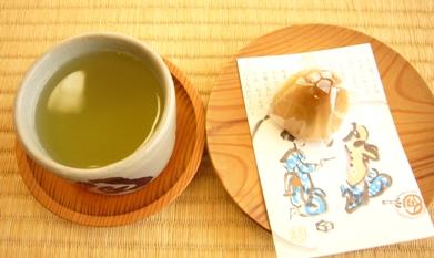 掬月亭_煎茶