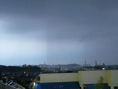 黒い雨の帯2