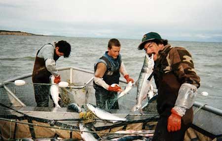 アラスカの漁師たち