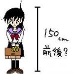 156cm希望★(細かいって;)