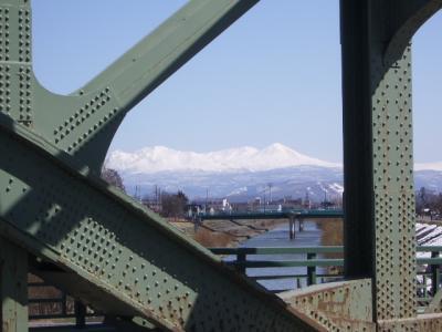 旭橋からの大雪山