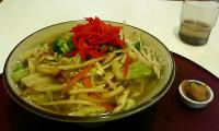 ソーキ野菜ソバ