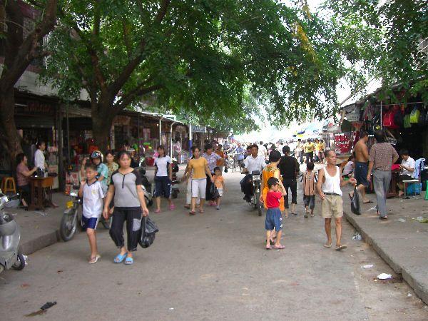 海南島6日目三亜の市場