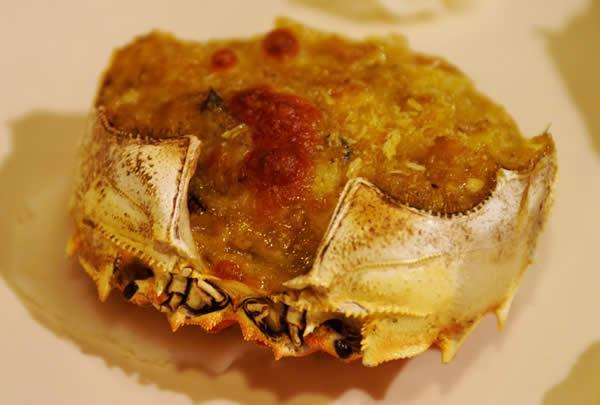 蟹王府蟹甲羅焼き