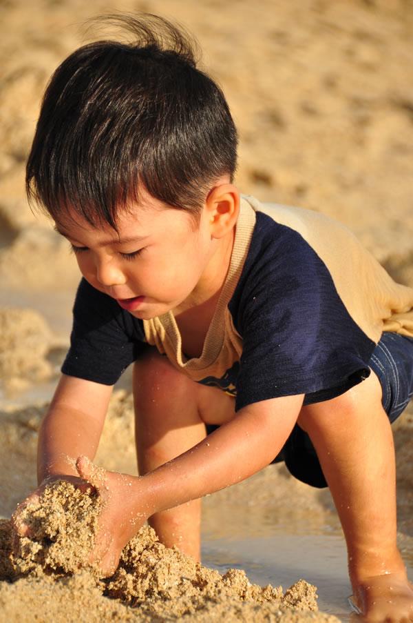 砂遊び02