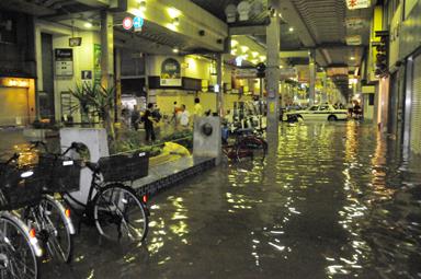 稲田写場洪水1