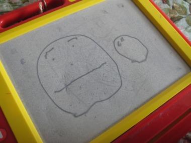 ケイの描いた「とうちゃん」
