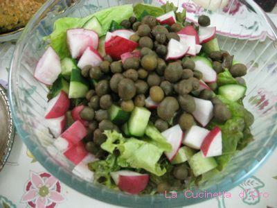 むかごのサラダ