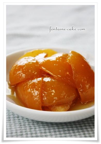 柚子のコンフィ