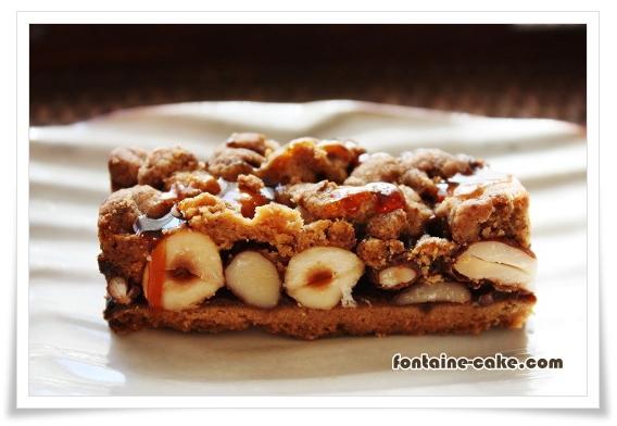 木の実と珈琲の焼き菓子