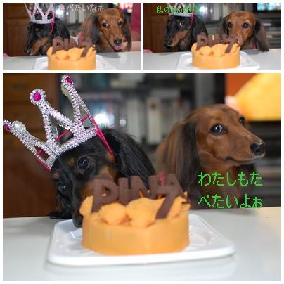 ケーキ食べる