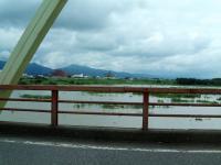 信濃川増水