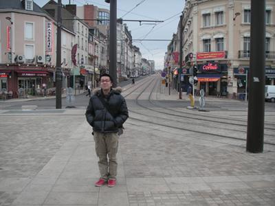 ル・マン駅前