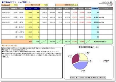 外貨管理ファイル