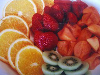 Noel/fruits