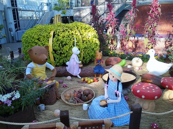 温室内 ハロウィンパーティー