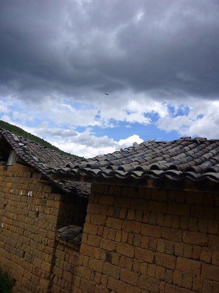 麗江近郊の小さな村