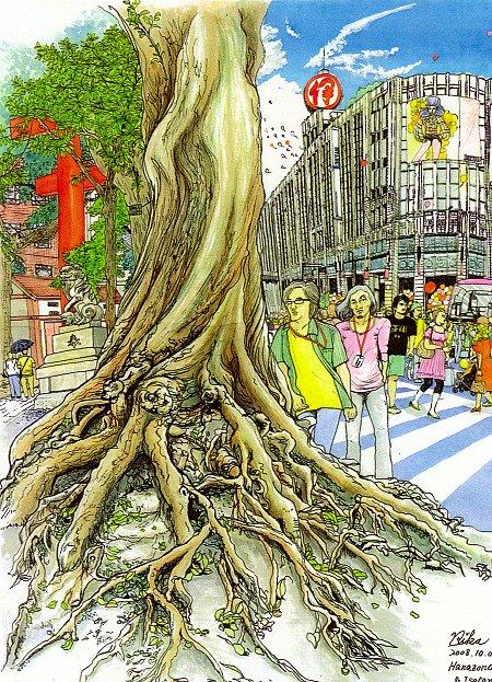 SHINJUKU18景 出展作品1