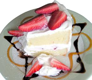Chiffon Short Cake