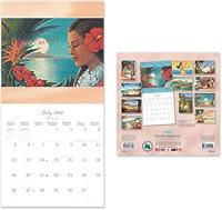 2009 ハワイアンカレンダー 中身