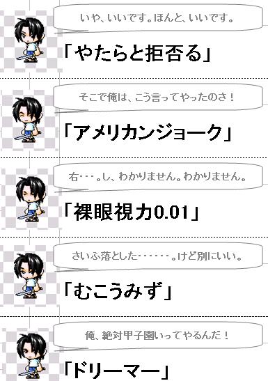 顔リスト6