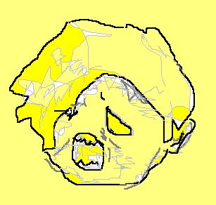 顔のコイン