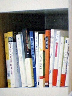 ソ・ドヨン自宅書斎左から2列目上から3段目