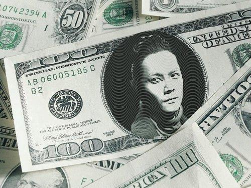 ソドヨン100ドル紙幣