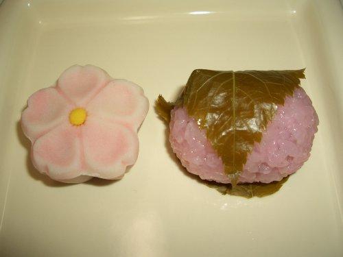 青野の桜餅とさくら