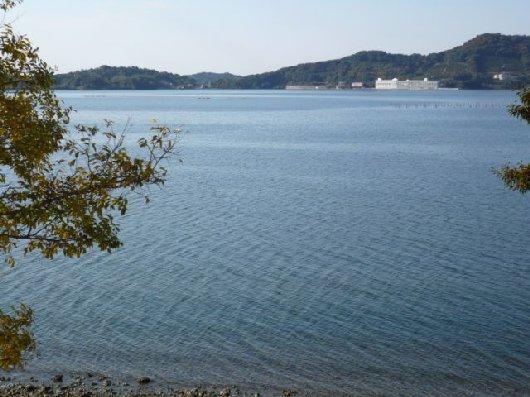 湖畔の朝1Pansyさま